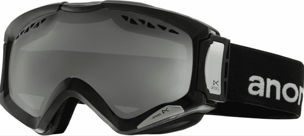 (Sale!!!) Anon Optic Realm Snow Goggles<br>Black/Silver Amber