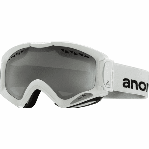 (Sale!!!) Anon Optic Realm Snow Goggles<br>White/Silver Amber