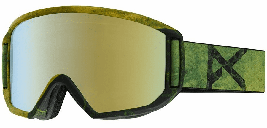 (Sale!!!) Anon Optic Relapse Snow Goggles<br>Dosed/Gold Chrome+Amber