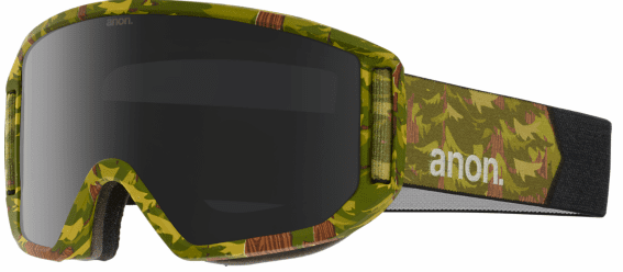 (Sale!!!) Anon Optic Relapse Snow Goggles<br>High Cascade/Dark Smoke + Amber