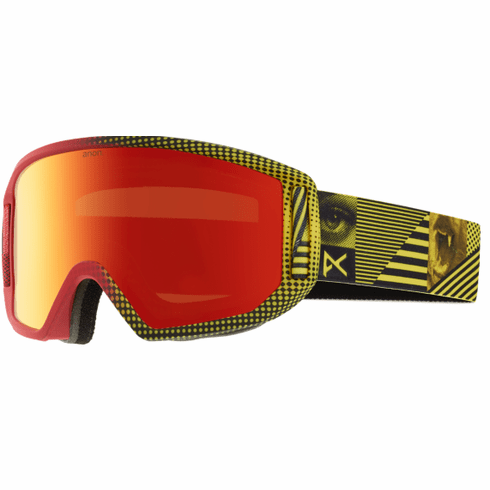 (Sale!!!) Anon Optic Relapse Snow Goggles<br>Imbearassed/Red Solex + Amber