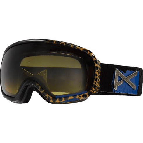 (Sale!!!) Anon Optic Tempest Snow Goggles<br>Cheater Blue/Yellow Gradient