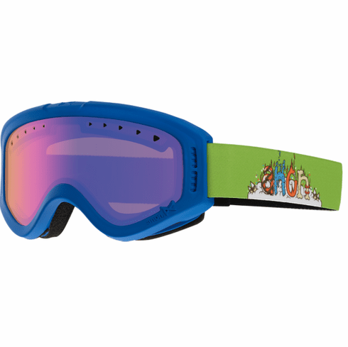 (Sale!!!) Anon Optic Tracker Snow Goggles<br>Crazybones/Blue Amber