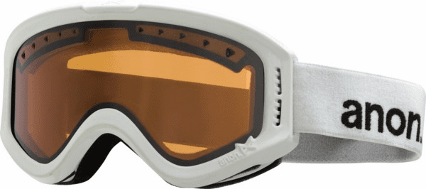 (Sale!!!) Anon Optic Tracker Snow Goggles<br>White/Amber