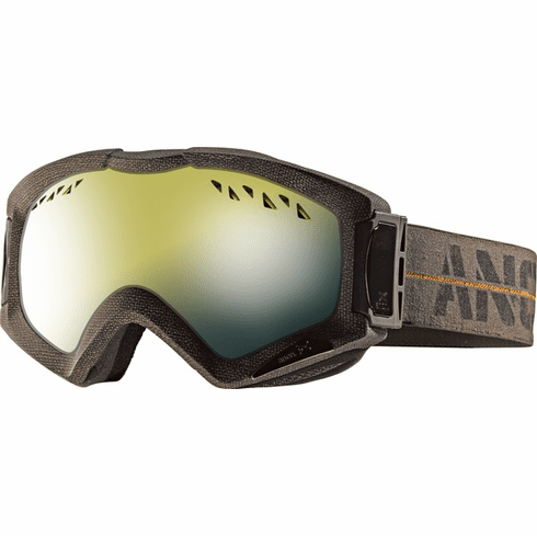 (Sale!!!) Anon Realm Goggles<br>Infantry/Gold Chrome