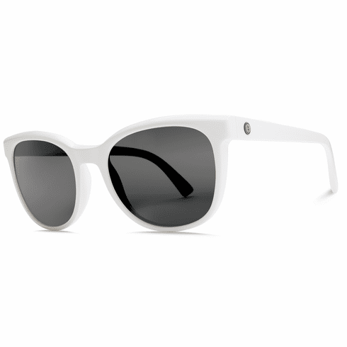 (SALE!!!) Electric Bengal Sunglasses<br>Alpine White/Melanin Grey
