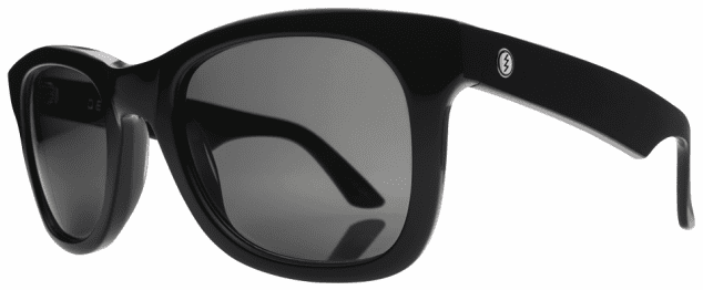 (Sale!!!) Electric Detroit XL Sunglasses<br>Gloss Black/Melanin Grey Polarized<br>Level I
