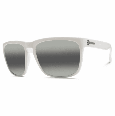 (Sale!!!) Electric Knoxville XL Sunglasses<br>Alpine White/Melanin Grey Bi-Gradient