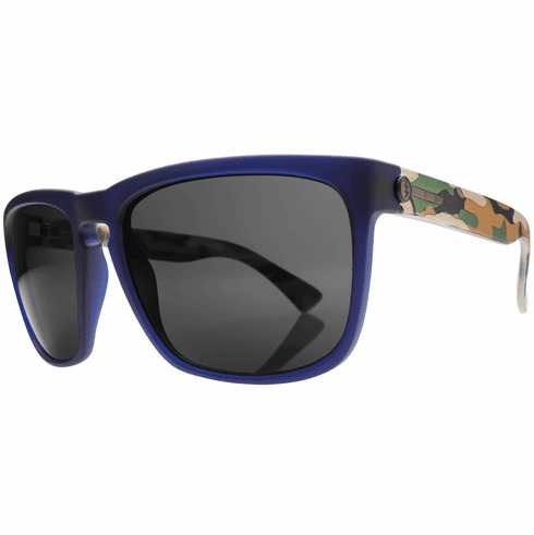 (Sale!!!) Electric Knoxville XL Sunglasses<br>Blue Jungle/Melanin Grey