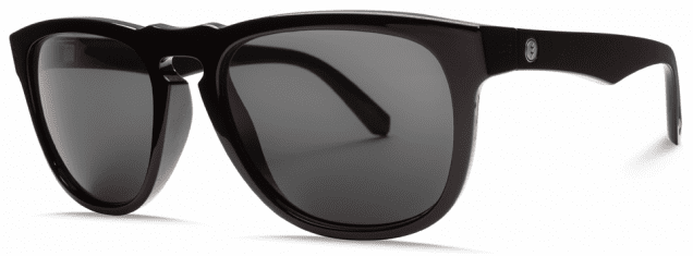(Sale!!!) Electric Leadfoot Sunglasses<br>Gloss Black/Melanin Grey