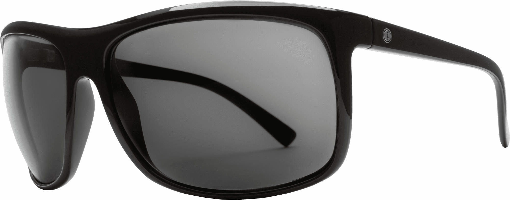 (Sale!!!) Electric Outline Sunglasses<br>Gloss Black/Melenin Grey
