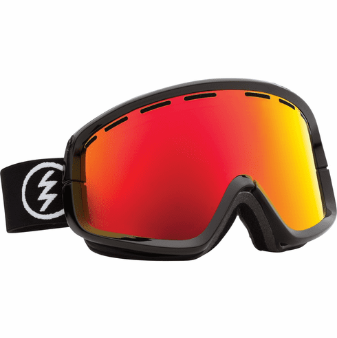 (Sale!!!) Electric Visual EGB2 Snow Goggles<br>Gloss Black/Bronze Red Chrome