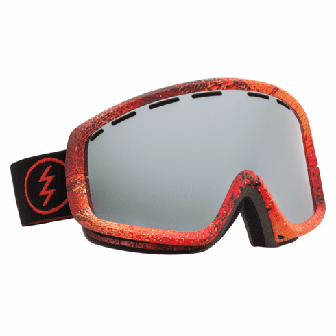 (Sale!!!) Electric Visual EGB2 Snow Goggles<br>Pat Moore/Bronze-Silver Chrome<br>+ Yellow Lens