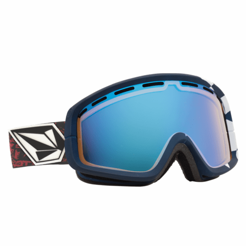 (Sale!!!) Electric Visual EGB2 Snow Goggles<br>V.Co-Lab/Yellow-Blue Chrome<br>+ Yellow Lens
