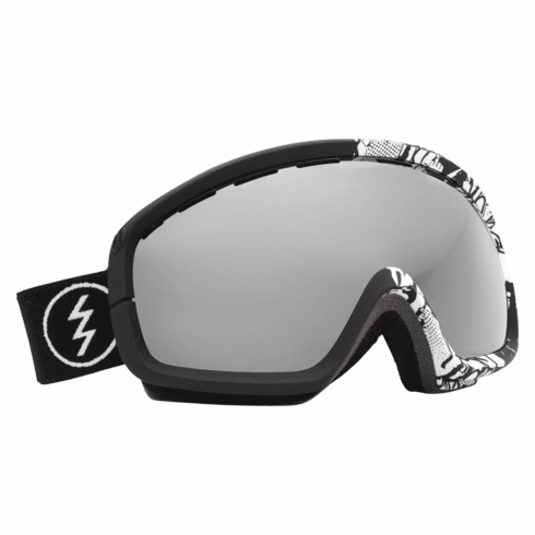 (Sale!!!) Electric Visual EGB2s Snow Goggles<br>F@ck Cancer/Bronze-Silver Chrome