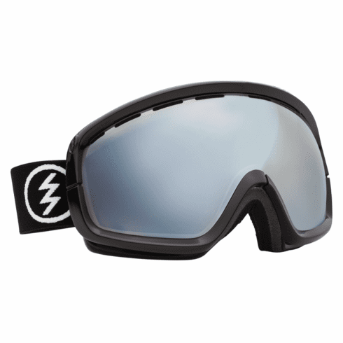 (Sale!!!) Electric Visual EGB2s Snow Goggles<br>Gloss Black/Blue-Silver Chrome