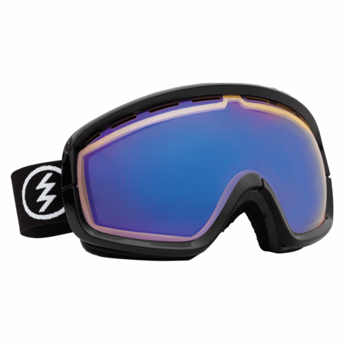 (Sale!!!) Electric Visual EGB2s Snow Goggles<br>Gloss Black/Yellow-Blue Chrome