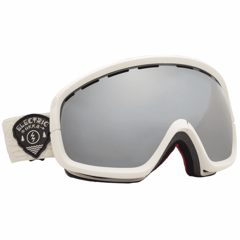 (Sale!!!) Electric Visual EGB2s Snow Goggles<br>Iikka Backstrom/Bronze-Silver Chrome