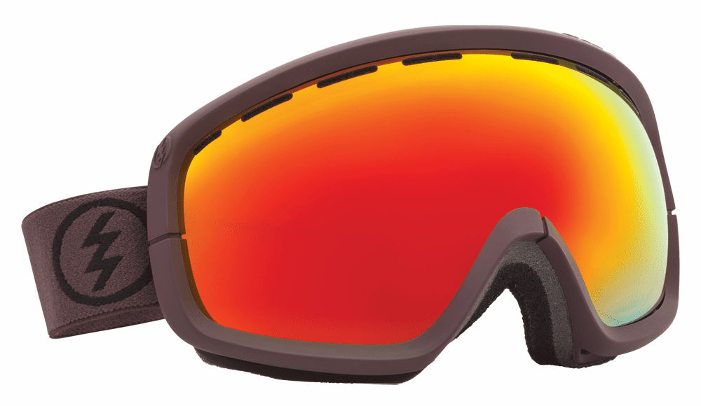 (Sale!!!) Electric Visual EGB2s Snow Goggles<br>Mississippi Mud/Bronze-Red Chrome