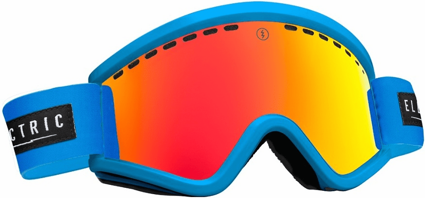 (Sale!!!) Electric Visual EGV Snow Goggles<br>Code Blue/Bronze Red Chrome<br>+ Light Green Lens