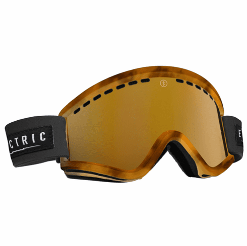 (Sale!!!) Electric Visual EGV Snow Goggles<br>Tort/Bronze w/Bronze Chrome<br>+ Light Green Lens 2015
