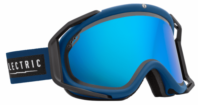 (Sale!!!) Electric Visual Rig Snow Goggles<br>Blues/Bronze w/Blue Chrome<br>+ Light Green Lens