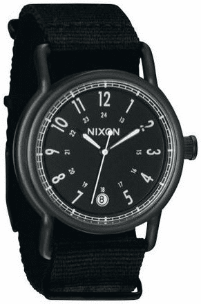 (Sale!!!) Nixon Axe Watch<br>All Black/Nylon