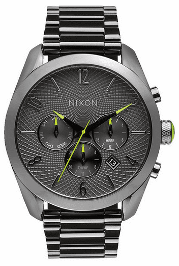 (Sale!!!) Nixon Bullet Chrono Watch<br>Gunmetal