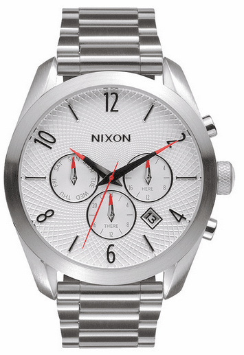 (Sale!!!) Nixon Bullet Chrono Watch<br>White
