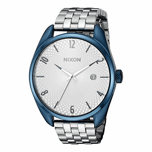 (Sale!!!) Nixon Bullet Watch<br>Navy/Silver