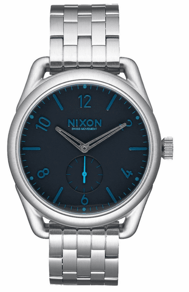 (Sale!!!) Nixon C39 SS Watch<br>Dark Blue