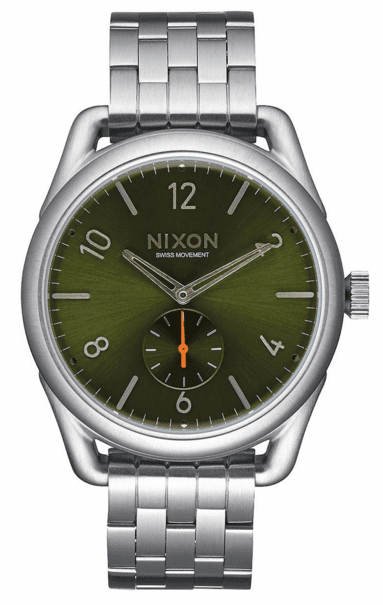 (Sale!!!) Nixon C39 SS Watch<br>Olive Sunray