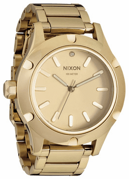 (SALE!!!) Nixon Camden Watch<br>All Gold