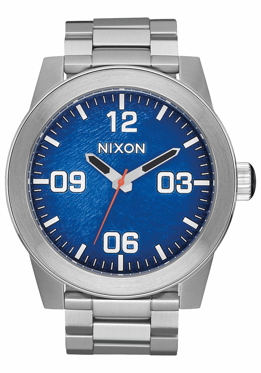 (Sale!!!) Nixon Corporal SS Watch<br>Reflex Blue Sunray