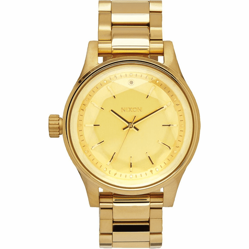 (Sale!!!) Nixon Facet Watch<br>All Gold