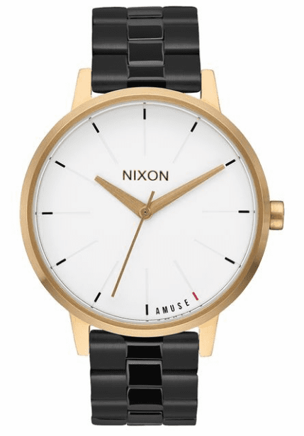 (Sale!!!) Nixon Kensington Watch<br>Light Gold/Black