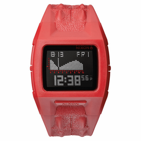 (Sale!!!) Nixon Lodown II Watch<br>Red Not Croc