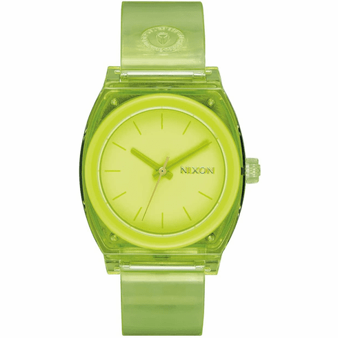 (SALE!!!) Nixon Medium Time Teller P Watch<br>Lime