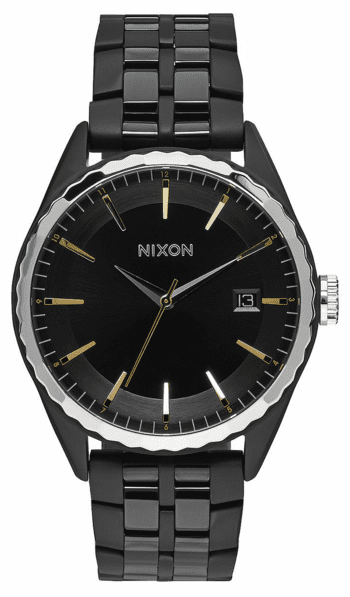 (Sale!!!) Nixon Minx Watch<br>All Black/Gold/Silver