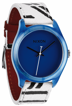 (SALE!!!) Nixon Mod Acetate Watch<br>Blue
