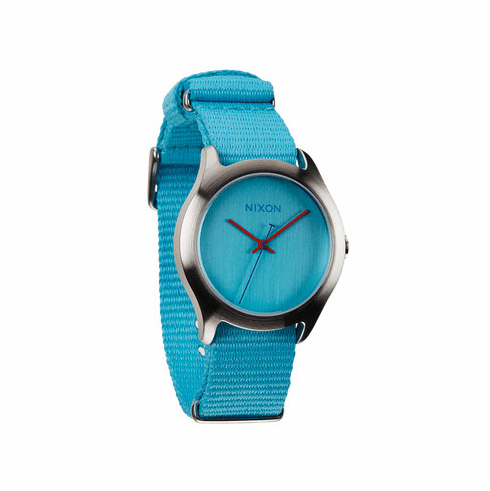 (Sale!!!) Nixon Mod Watch<br>Bright Blue