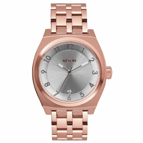 (Sale!!!) Nixon Monopoly Watch<br>Rose Gold