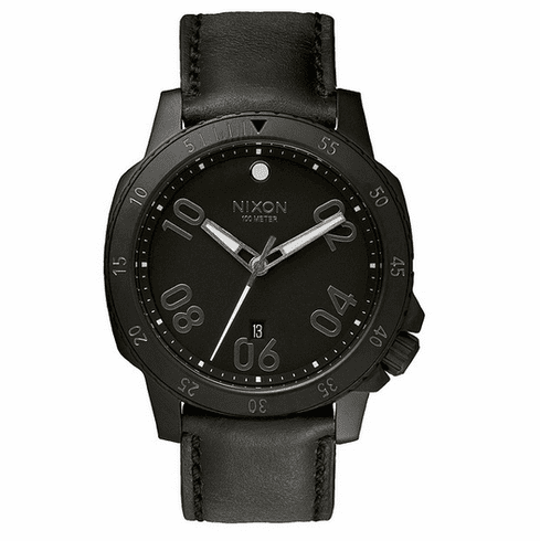 (Sale!!!) Nixon Ranger Leather Watch<br>All Black