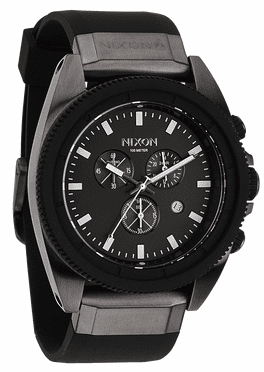 (Sale!!!) Nixon Rover Chrono Watch<br>Gunmetal/Black