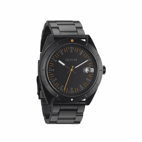(Sale!!!) Nixon Rover SS II Watch<br>All Black/Orange