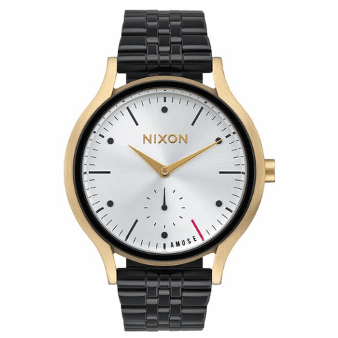 (Sale!!!) Nixon Sala Watch<br>Light Gold/Black