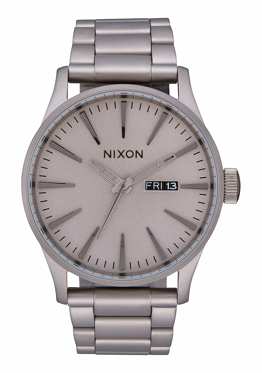 (SALE!!!) Nixon Sentry SS Watch<br>Dark Steel