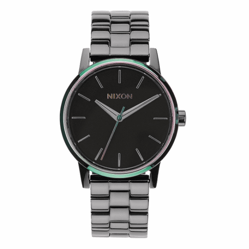 (Sale!!!) Nixon Small Kensington Watch<br>Gunmetal/Multi