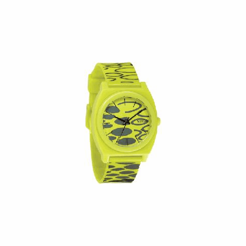 (Sale!!!) Nixon Time Teller P Watch<br>Citron Wildside