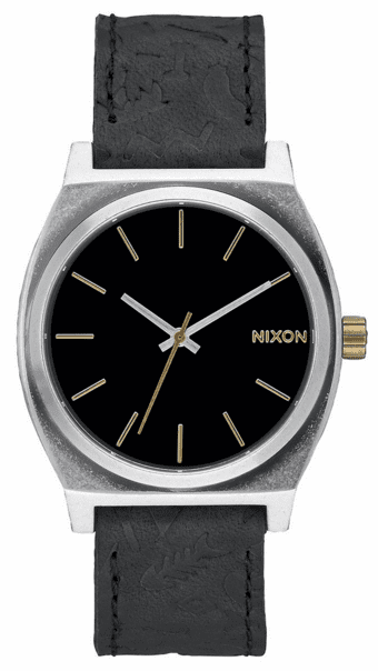 (Sale!!!) Nixon Time Teller Watch<br>Black/Brass